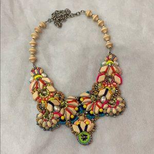 Megan Park bib necklace 💋